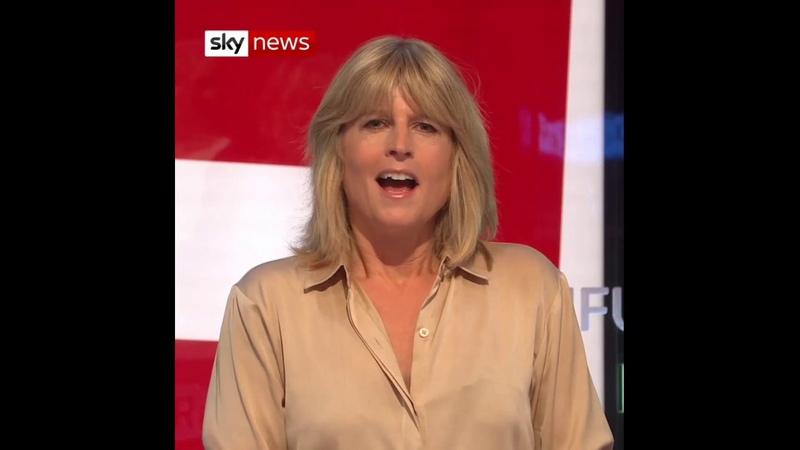 Rachel Johnsons Naked Brexit Protest
