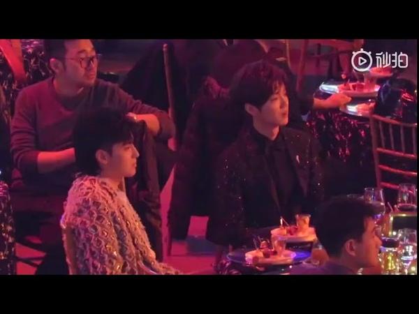 [Fancam]181201 LuHan x Kris at IQIYI Scream Night 2019