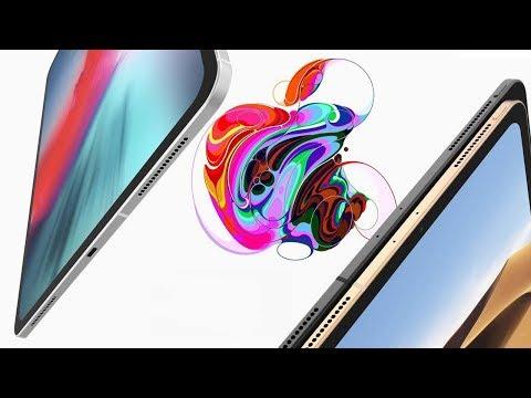Полная презентация Apple (незабаненая на русском) iPad Pro с Face ID, MacBook Air 2, AirPods 2, Mac mini, iMac 2018!