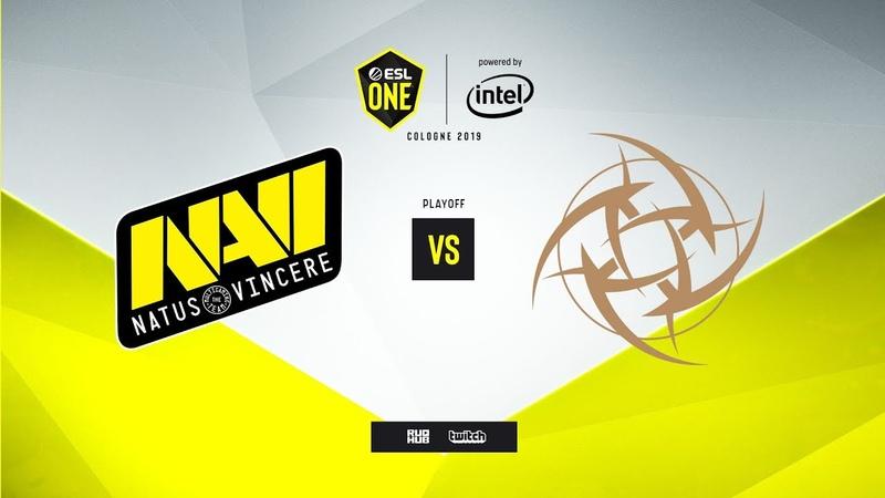 Na`Vi vs. NiP - ESL One Cologne 2019 - map1 - de_inferno [MintGod сeh9]