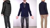 Одежда мужская Фаберлик 14 каталог. Утепленная куртка мужская черная, пиджак мужской темносиний