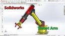 Solidworks Tutorial HP: Industrial Robot Arm - Part 01
