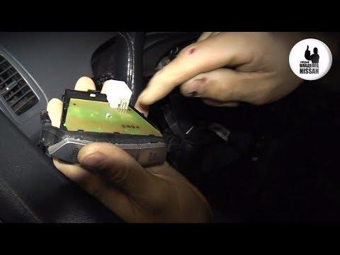 Nissan Primera P12. Если кнопки руля, глючат в мороз.