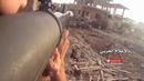 Сирия Бои в городе снятые на экшен камеру