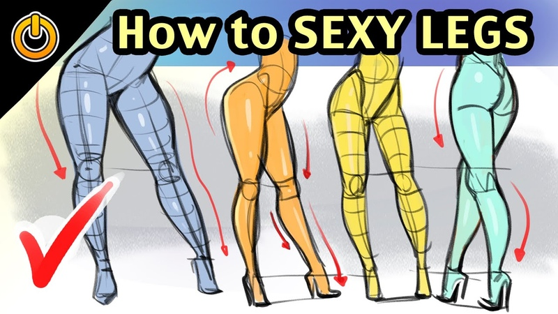 How to DRAW SEXY FEMALE LEGS! Structure and Flow! by REIQ