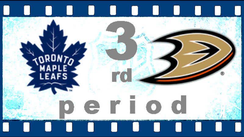 МАТЧ НОМЕР 291. 16 НОЯБРЯ 2018. TORONTO MAPLE LEAFS ― ANAHEIM DUCKS