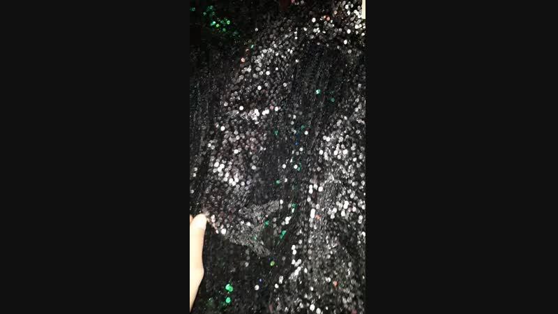 платья пайетки 1700