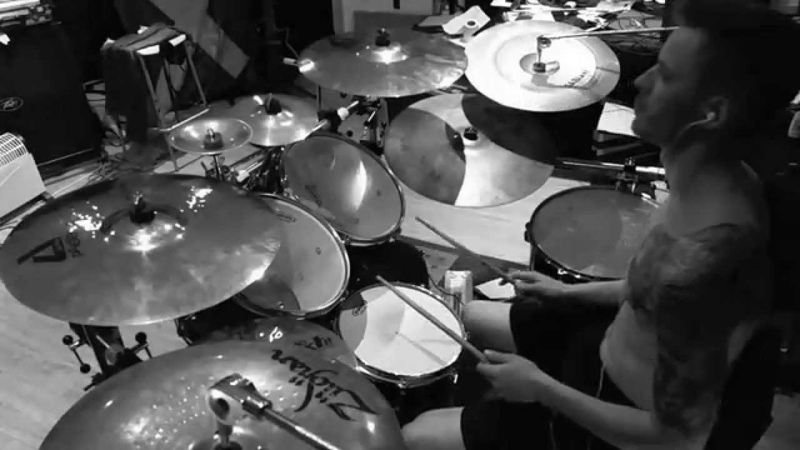 Decapitated - The Fury (drum cover by Tam Moran)