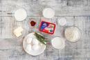 Закусочные профитроли с сырной начинкой и пряными травами