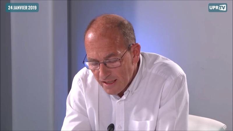 Etienne Chouard explique pourquoi il vote UPR aux Européennes