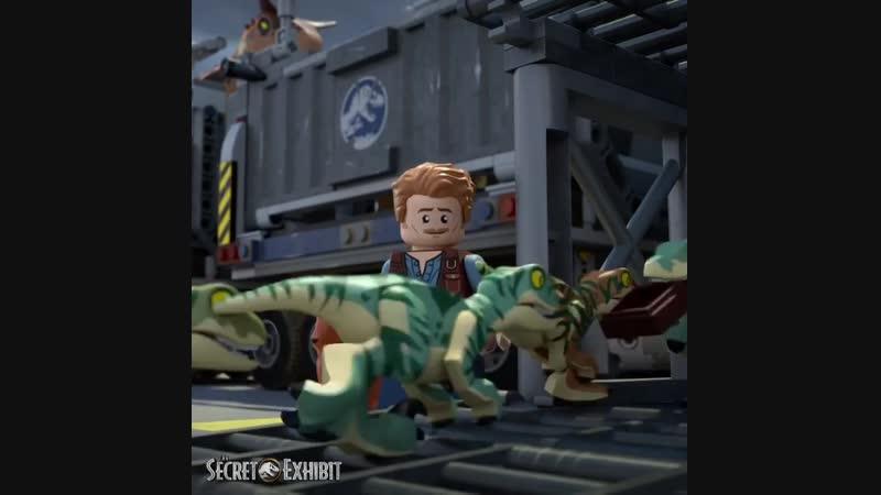 LEGO Jurassic Film Мир Юрского периода 2019 2