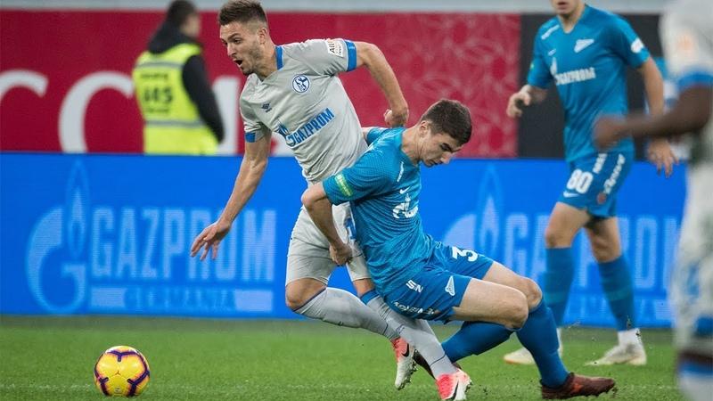 «Зенит» — «Шальке-04» полный обзор матча на «Зенит-ТВ»