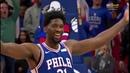 76ers' Joel Embiid Blocks Jazz's Donovan Mitchell, Hilariously Baits Mitchell into Technical Foul