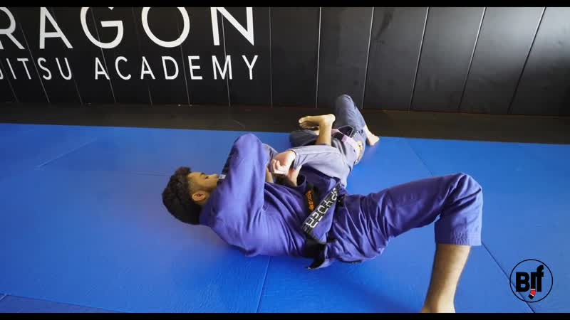 Jamil Hill Taylor Lasso Guard Variation Sweep Submission