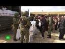Жители сирийского поселка поздравили российских военных с 23 Февраля