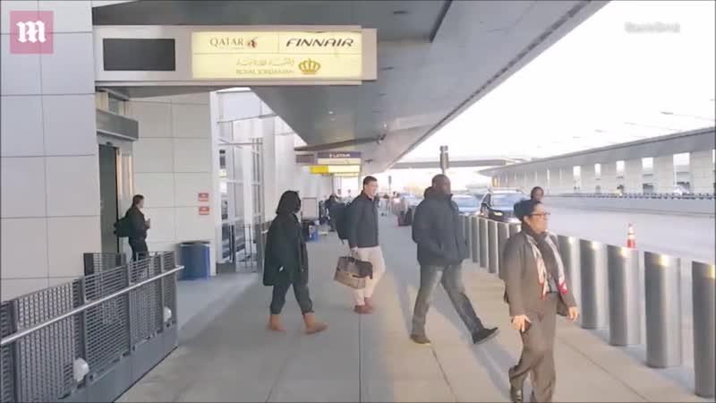 Рианна в аэропорту JFK (Нью-Йорк, 28.01.2019)