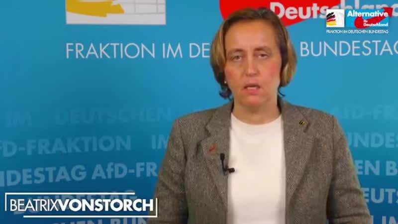 Beatrix von Storch AfD SPD Jugend will Kindermord legalisieren