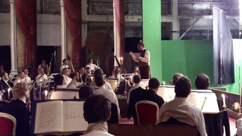 "Episode from movie scenes ""The Devil's Violinist with David Garrett as Paganini."