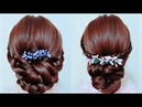 Hairstyles Buns for Long Hair - Quick And Easy Updo Hairstyles With Braids