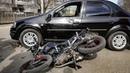 ДТП водитель Рено не пропустил мотоциклиста
