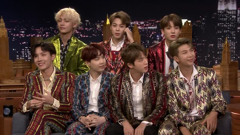 180925 Jimmy Interviews the Biggest Boy Band on the Planet BTS