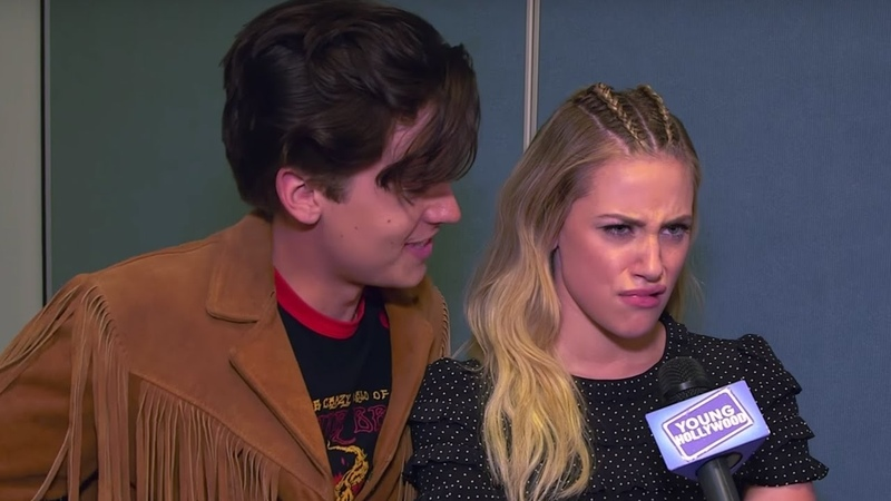 Lili Reinhart impersonates Cole Sprouse, Riverdale Cast describes show in emojis!