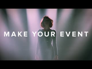 Keep calm and make your event