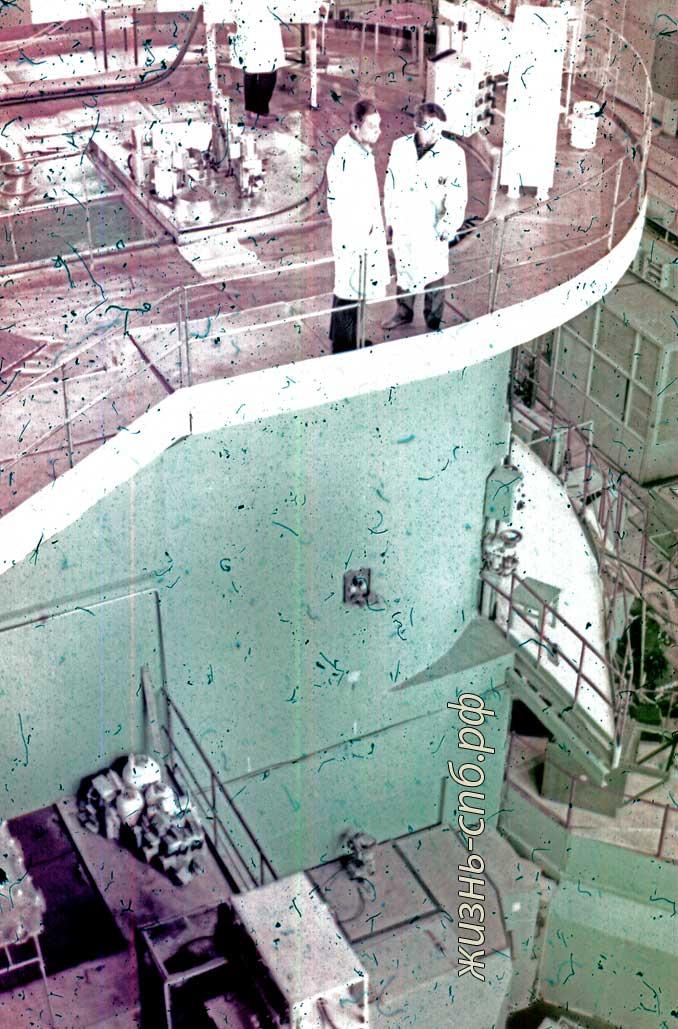 Советская Латвия. г. Саласпилс. Атомный реактор. Старые фото