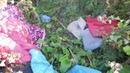 Майкудук летом Дом бомжа на месте для рамсов
