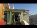 Монастырь Таунг Калат на горе Поупа Мьянма