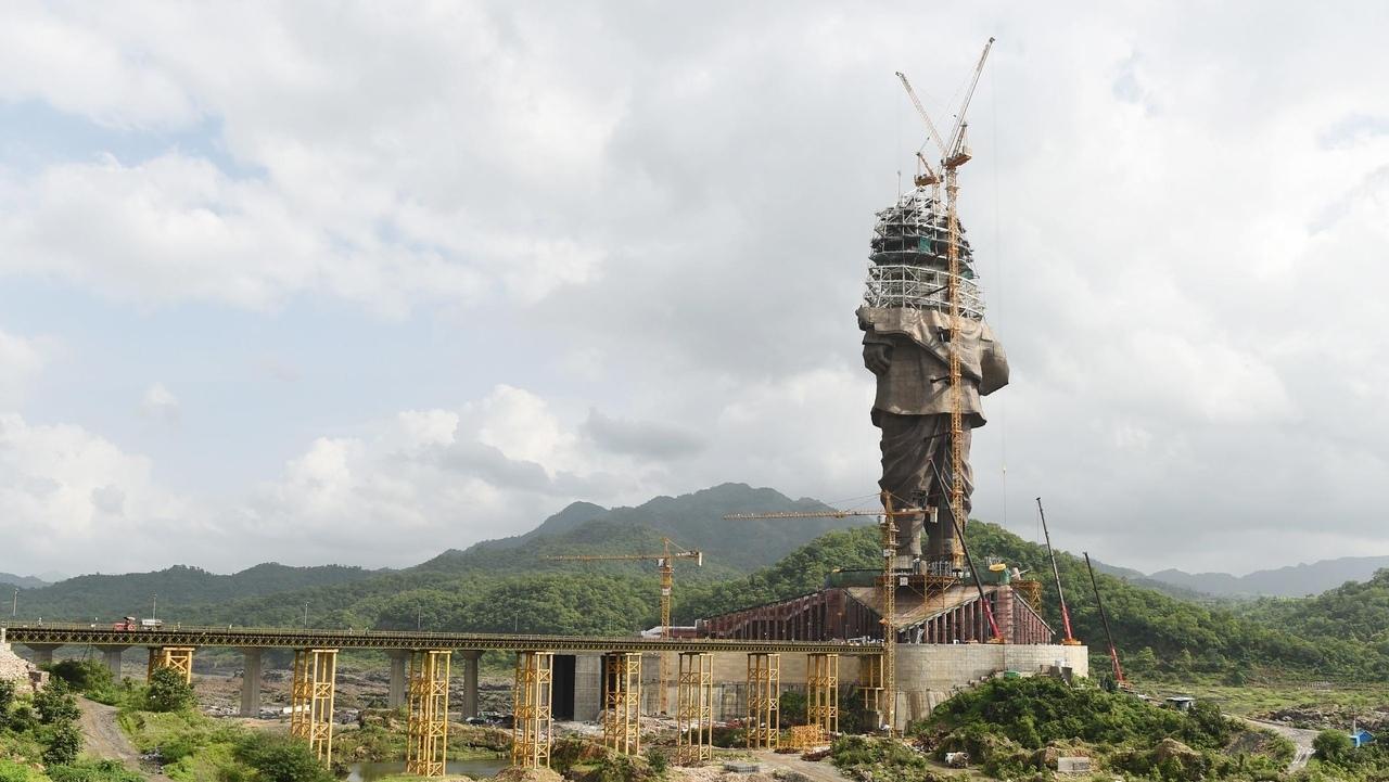 В Индии завершено строительство статуи Единства, самой высокой статуи в мире