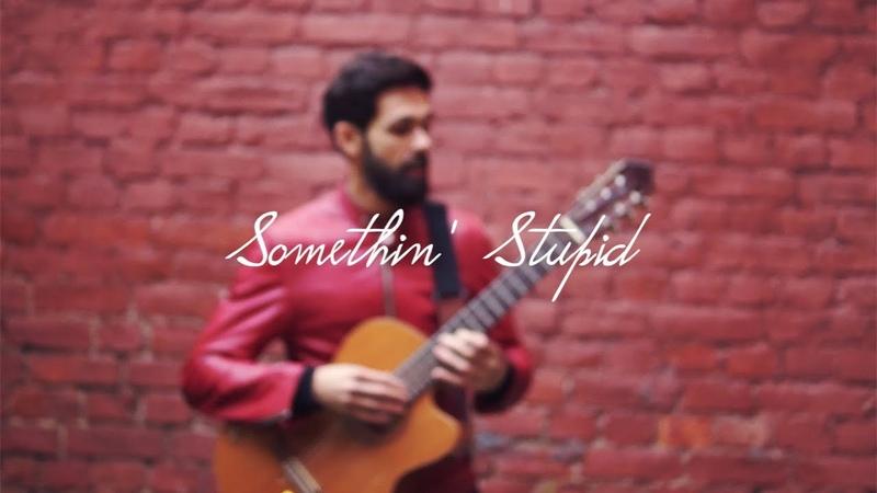 Frank Sinatra Nancy Sinatra - Somethin' Stupid (theToughBeard Cover на Гитаре)