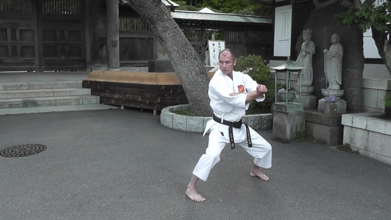 Текки-Сандан ката каратэ сётокан Игорь Моисеев 5й дан JKA Япония 2018
