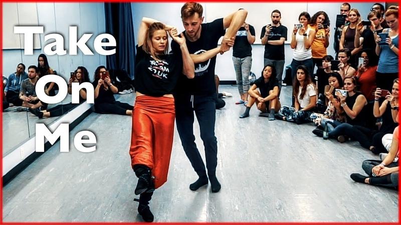 A-Ha Take On Me (MTV Unplugged) | Brazilian Zouk Dance | Jakub Jakoubek Lucia Kubasova | NYC Zouk
