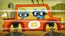 Котики, вперёд! - МАШИНКИ - Сборник мультиков про автомобили, поезда, самолетики