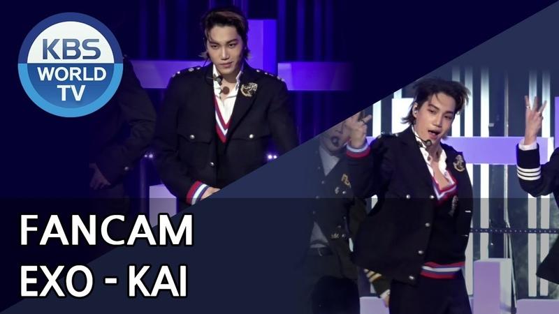 [FOCUSED] EXOs KAI - Tempo [Music Bank 2018.11.02]