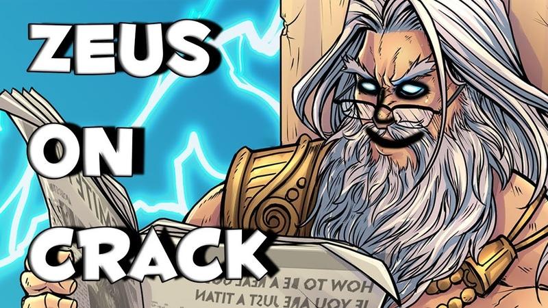 Zeus on crack - smite montage