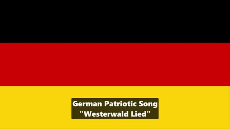 Westerwaldlied - weils grad so medial hochgepuscht wird ;-) Also auf meine Patrioten-Kameraden....*singt alle mit