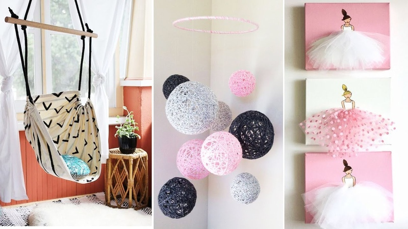 DIY Room Decor! 15 Easy Crafts at Home, Diy Ideas for Teenagers (DIY Wall Decor, Pillows, etc.)