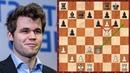 Шахматы ГЕНИАЛЬНАЯ АТАКА на короля в исполнении Магнуса Карлсена
