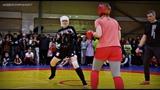 Жёсткие удары ногами   Женский бой: Лаврова - Осипова   От новичка до чемпиона