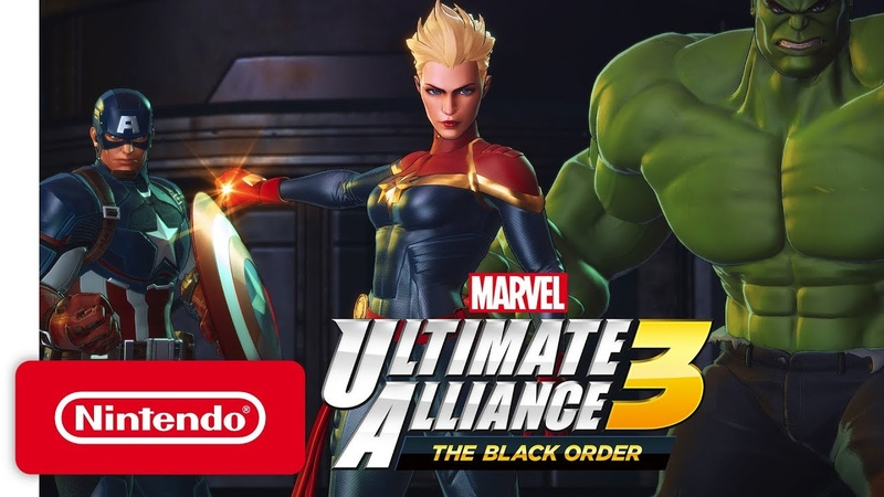 MARVEL ULTIMATE ALLIANCE 3: The Black Order - Nintendo Direct 2.13.19 - Nintendo Switch