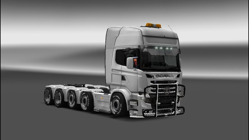 Euro Truck Simulator 2 Scania Illegal Самый быстрый грузовик