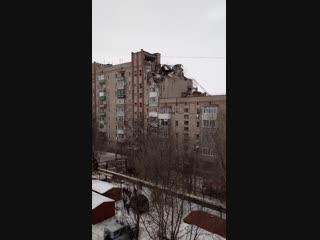 Взрыв в Шахтах Ростовской области. Вид сверху. Ростов Главный