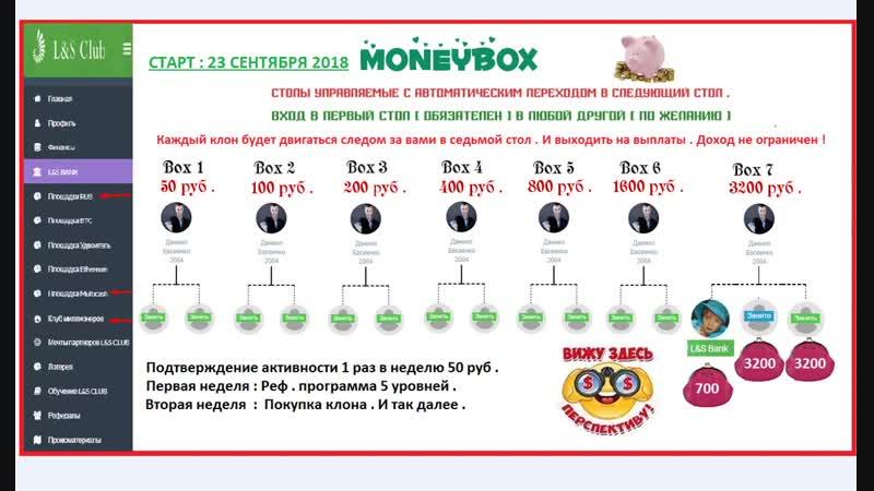 О социальной площадке MONEYBOX проекта LS Club .mp4