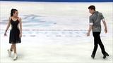 Елизавета Худайбердиева и Никита Назаров. Юниорский чемпионат мира 2019. ПТ