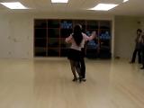 Tango Canyengue, a review dance on Ocho Cortado by Igor Polk and Cecilia Sung