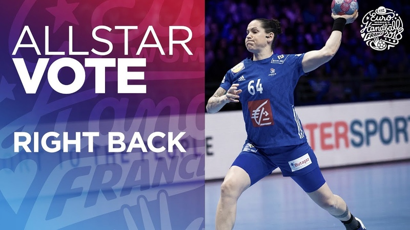 ALL STAR TEAM Selection Right back Women's EHF EURO 2018