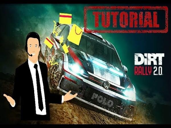 DIRT RALLY 2.0 - SETUP SETTINGS - Ford Fiesta MK 8 - RallyCross ( Tutorial)