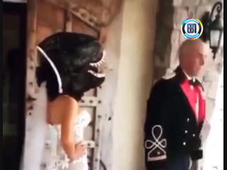 Когда невеста с чувством юмора